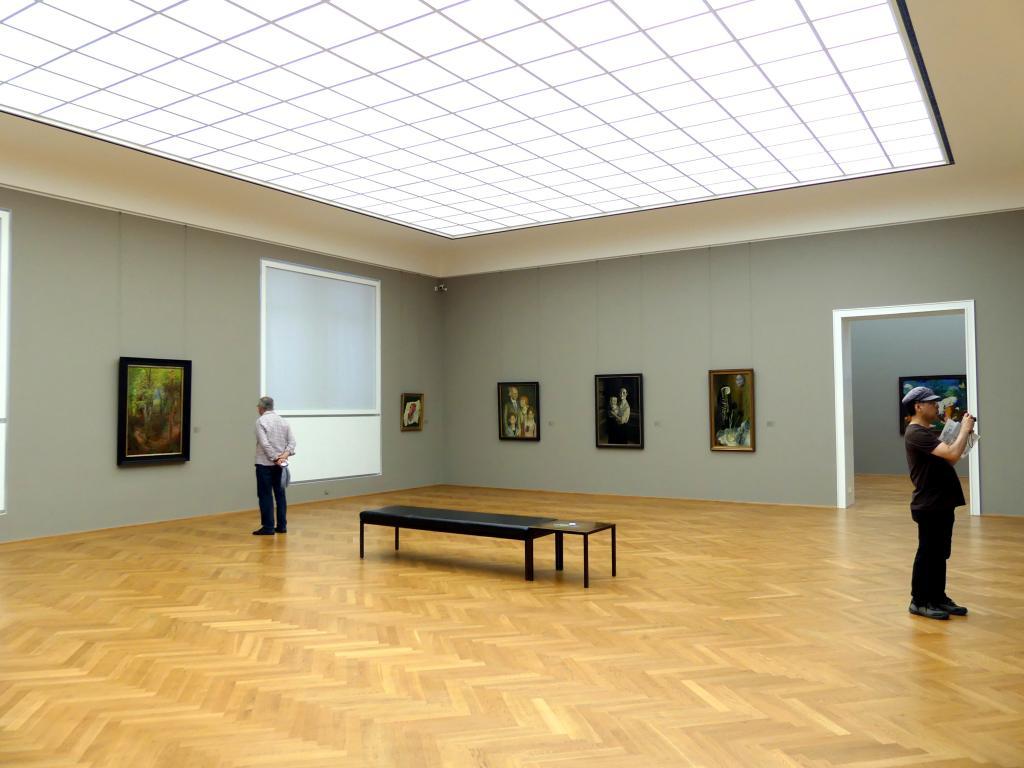Dresden, Albertinum, Galerie Neue Meister, 2. Obergeschoss, Saal 16, Bild 1/2
