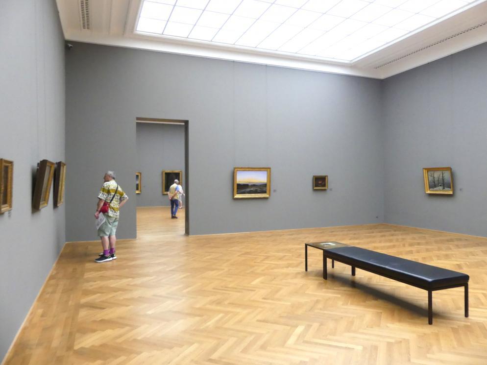 Dresden, Albertinum, Galerie Neue Meister, 2. Obergeschoss, Saal 2, Bild 1/2