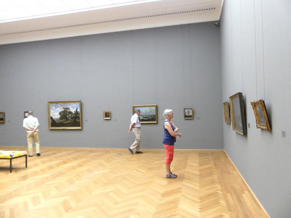 Dresden, Albertinum, Galerie Neue Meister, 2. Obergeschoss, Saal 3, Bild 3/4