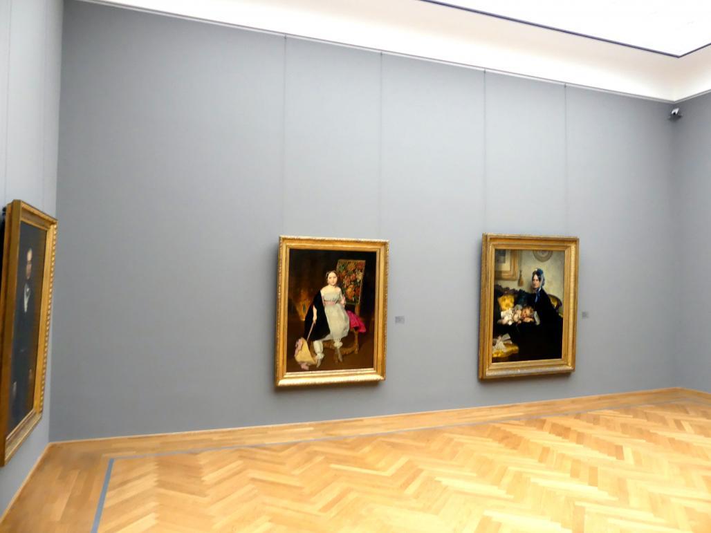 Dresden, Albertinum, Galerie Neue Meister, 2. Obergeschoss, Saal 5, Bild 1/2