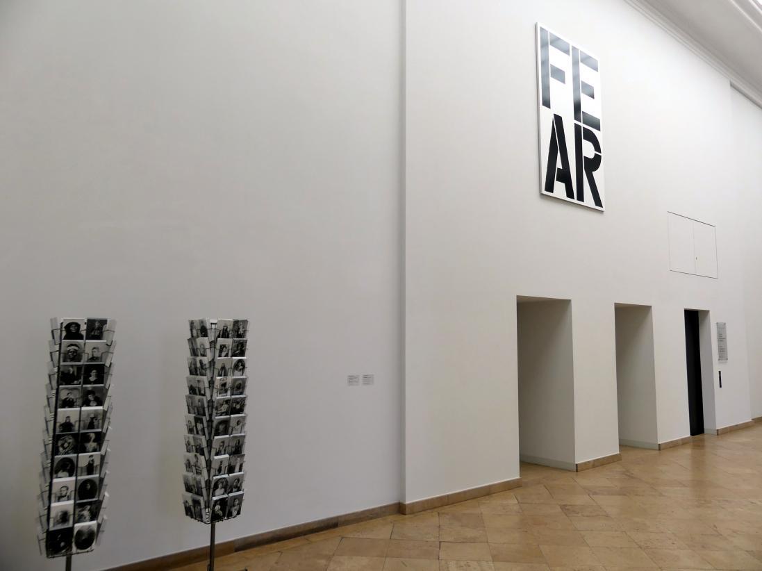 Dresden, Albertinum, Galerie Neue Meister, 2. Obergeschoss, Treppenhaus, Bild 1/2