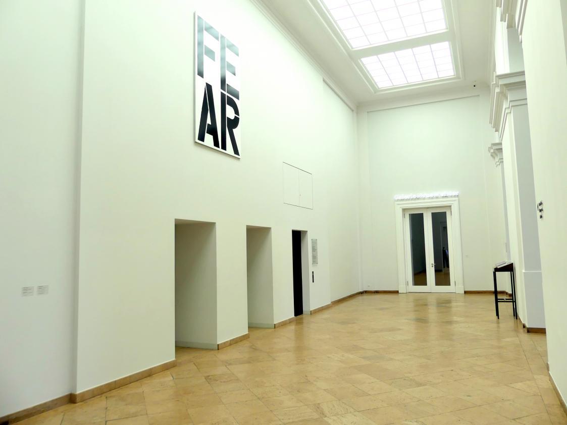 Dresden, Albertinum, Galerie Neue Meister, 2. Obergeschoss, Treppenhaus, Bild 2/2