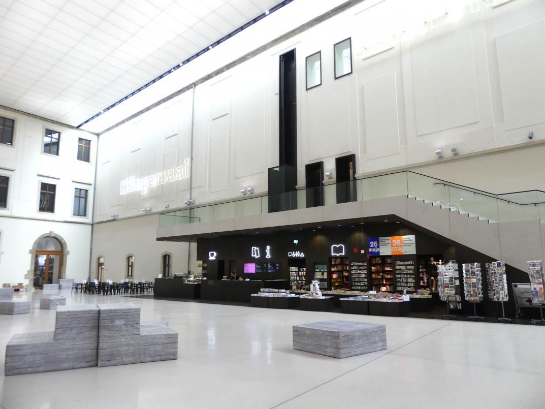 Dresden, Albertinum, Galerie Neue Meister, Erdgeschoss, Lichthof, Bild 2/5