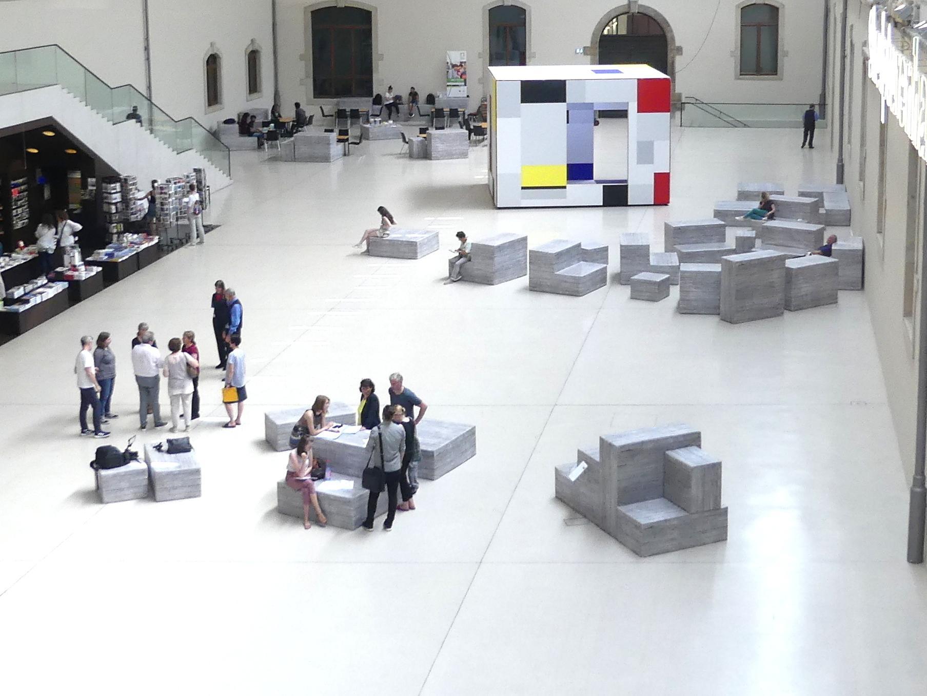 Dresden, Albertinum, Galerie Neue Meister, Erdgeschoss, Lichthof, Bild 4/5