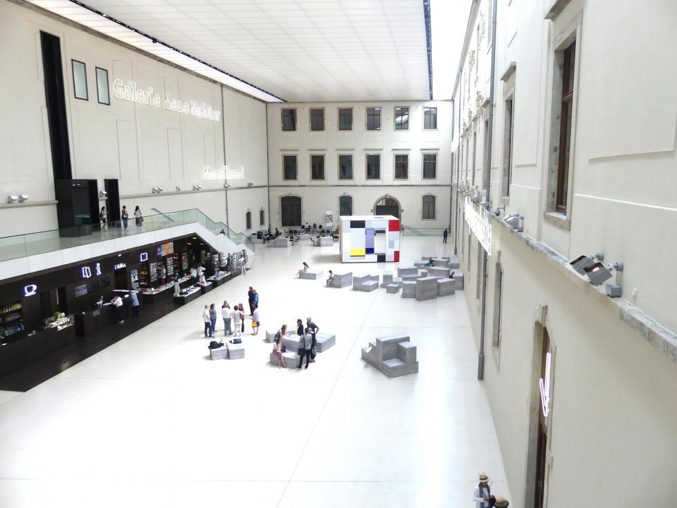 Dresden, Albertinum, Galerie Neue Meister, Erdgeschoss, Lichthof, Bild 5/5