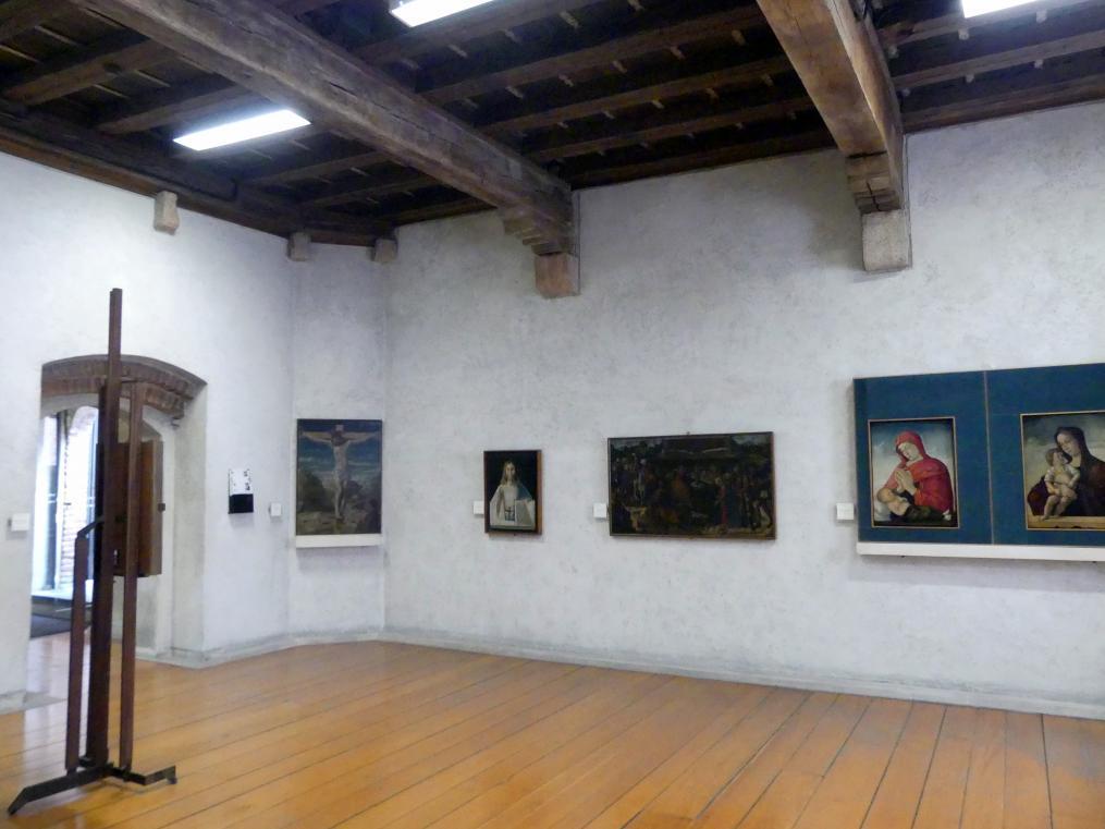 Verona, Museo di Castelvecchio, Saal 13, Bild 1/3
