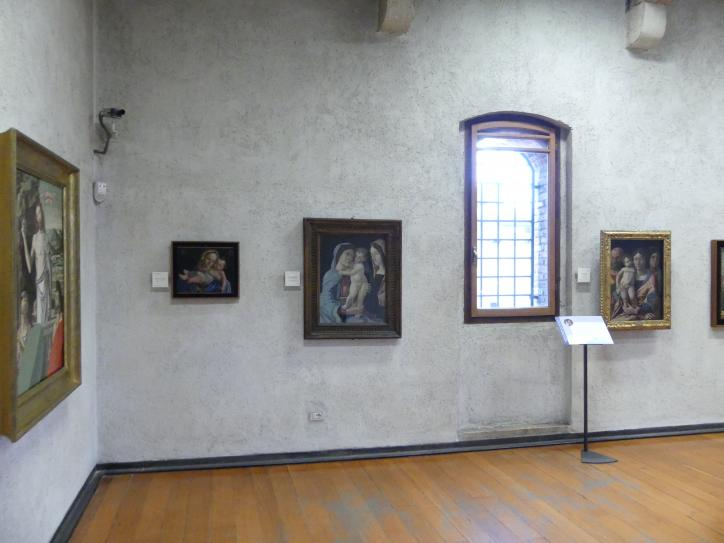 Verona, Museo di Castelvecchio, Saal 18, Bild 1/3