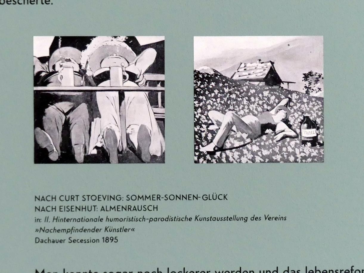 München, Lenbachhaus, Saal 24, Bild 13/14