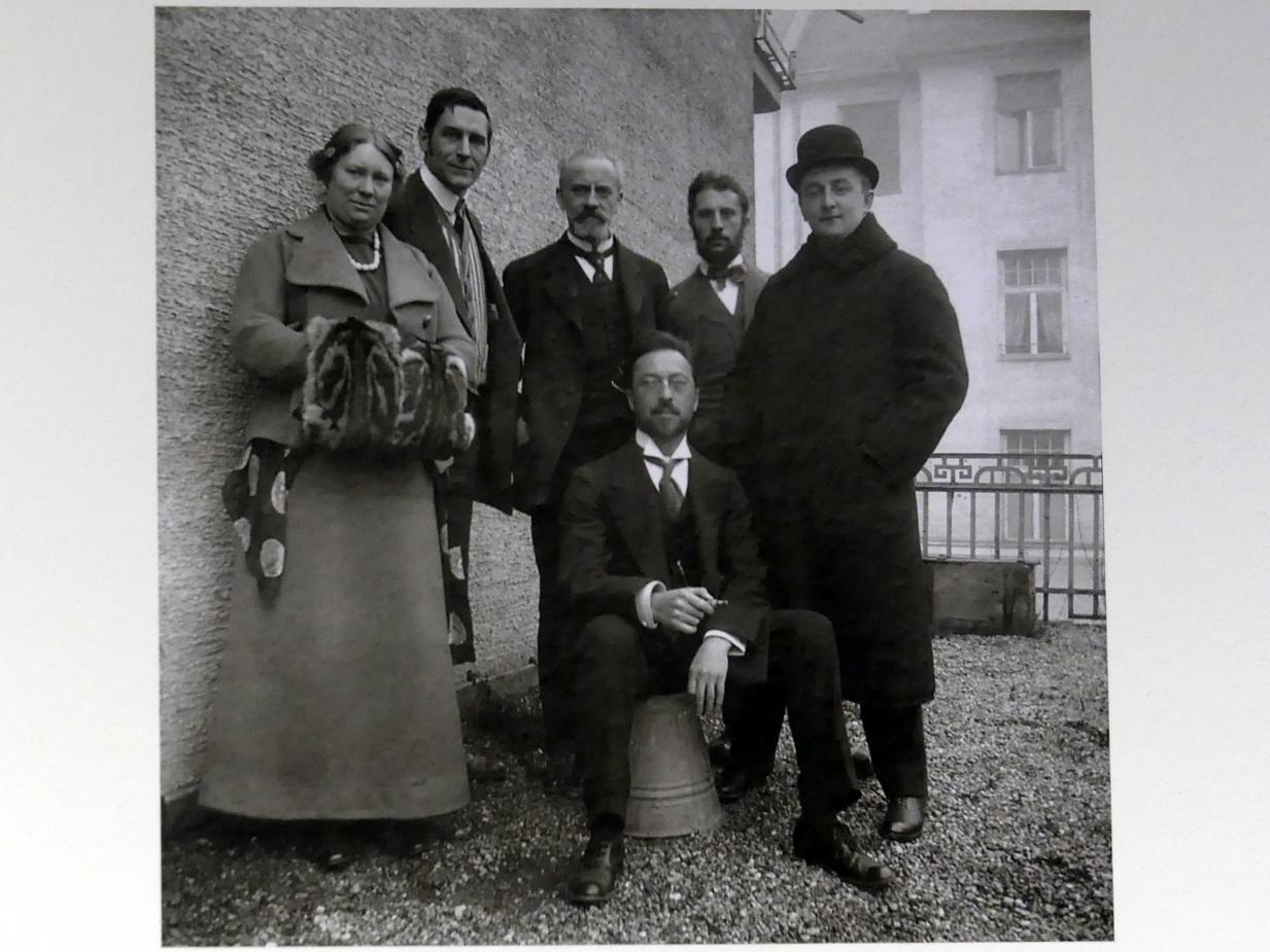 """München, Lenbachhaus, Kunstbau, Ausstellung """"Lebensmenschen"""" vom 22.10.2019-16.2.2020, München, Murnau, Oberstdorf, 1908-1913, Bild 15/17"""