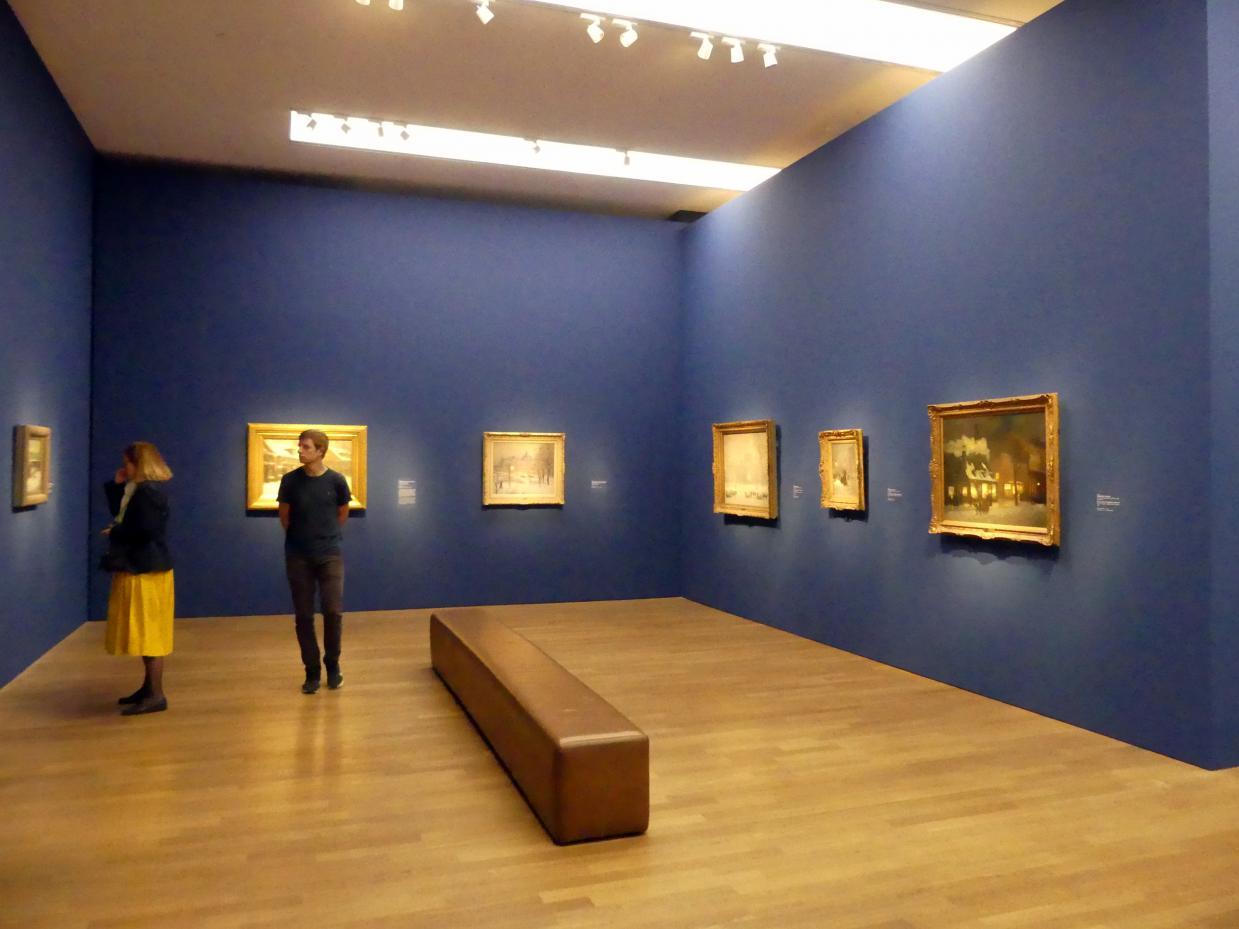 """München, Kunsthalle, Ausstellung """"Kanada und der Impressionismus"""" vom 19.7.-17.11.2019, Vom Impressionismus zur kanadischen Moderne, Bild 1/12"""