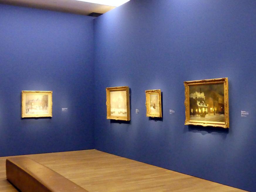 """München, Kunsthalle, Ausstellung """"Kanada und der Impressionismus"""" vom 19.7.-17.11.2019, Vom Impressionismus zur kanadischen Moderne, Bild 2/12"""