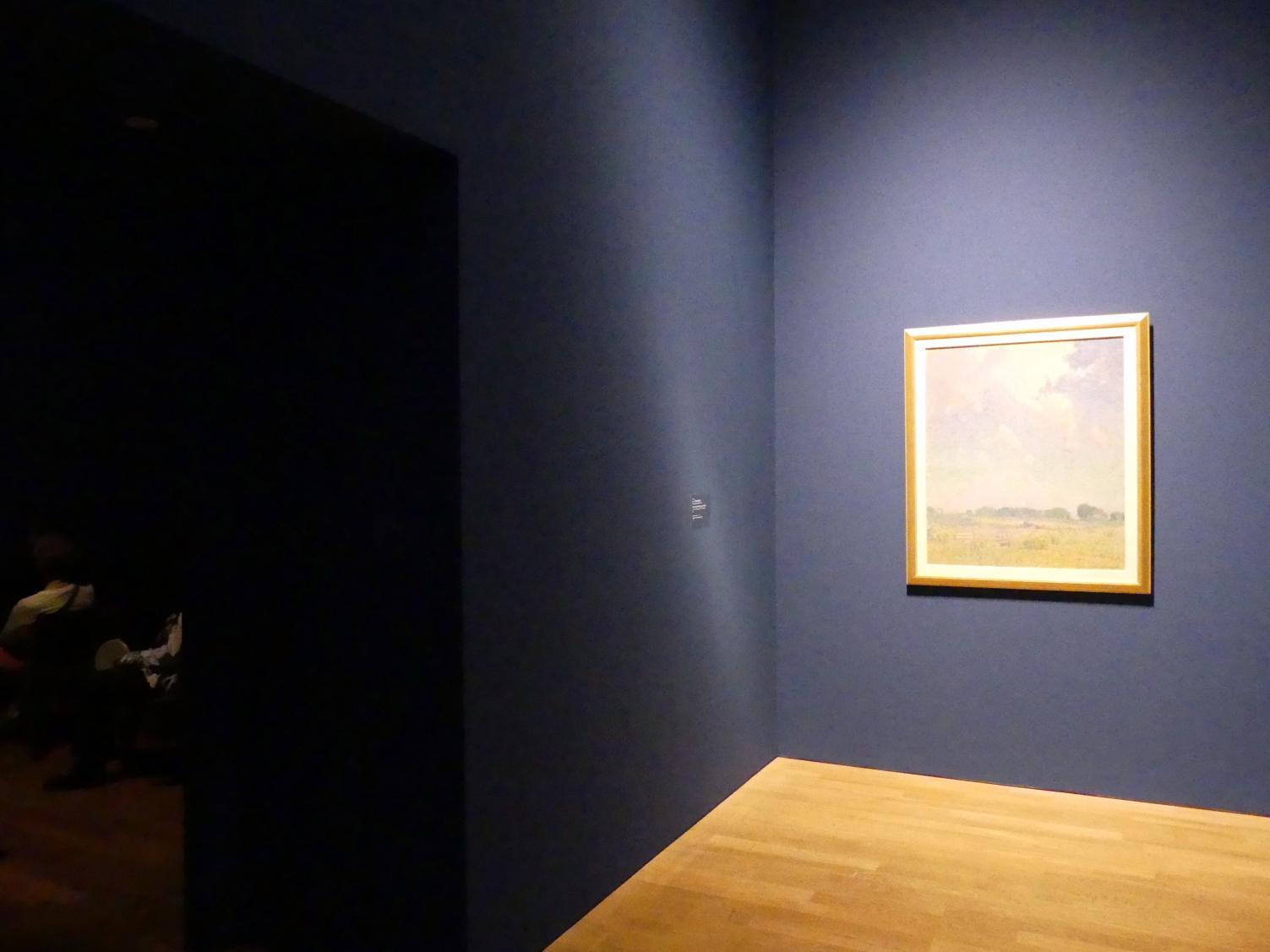 """München, Kunsthalle, Ausstellung """"Kanada und der Impressionismus"""" vom 19.7.-17.11.2019, Vom Impressionismus zur kanadischen Moderne, Bild 3/12"""