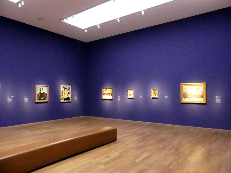 """München, Kunsthalle, Ausstellung """"Kanada und der Impressionismus"""" vom 19.7.-17.11.2019, Vom Impressionismus zur kanadischen Moderne, Bild 7/12"""