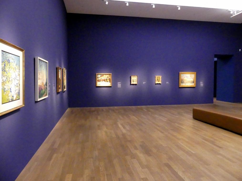 """München, Kunsthalle, Ausstellung """"Kanada und der Impressionismus"""" vom 19.7.-17.11.2019, Vom Impressionismus zur kanadischen Moderne, Bild 10/12"""