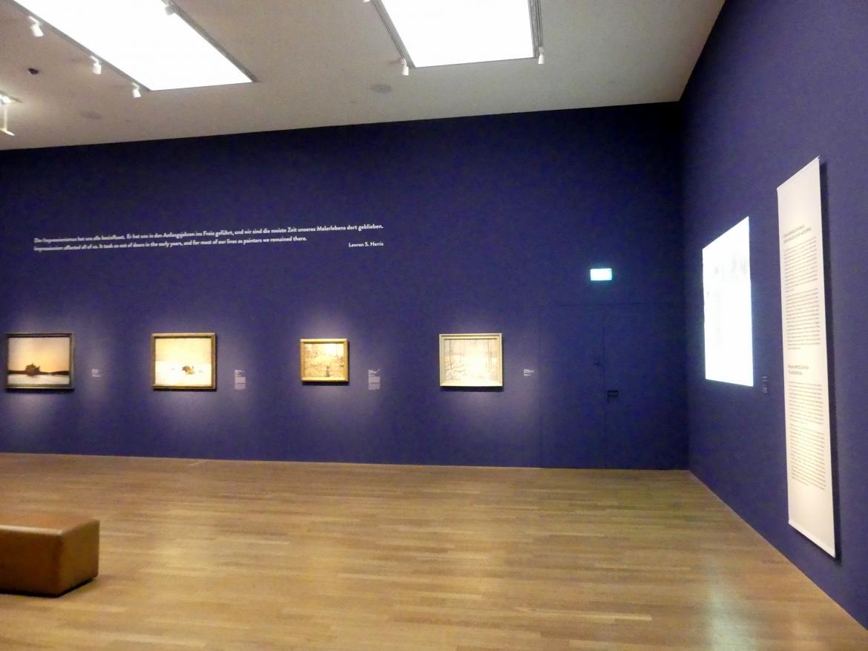 """München, Kunsthalle, Ausstellung """"Kanada und der Impressionismus"""" vom 19.7.-17.11.2019, Vom Impressionismus zur kanadischen Moderne, Bild 12/12"""