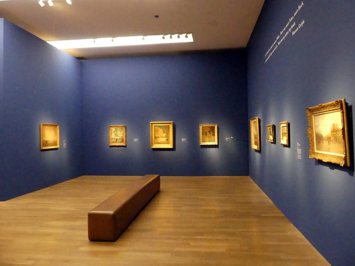 """München, Kunsthalle, Ausstellung """"Kanada und der Impressionismus"""" vom 19.7.-17.11.2019, Frankreich-Impressionen, Bild 1/6"""