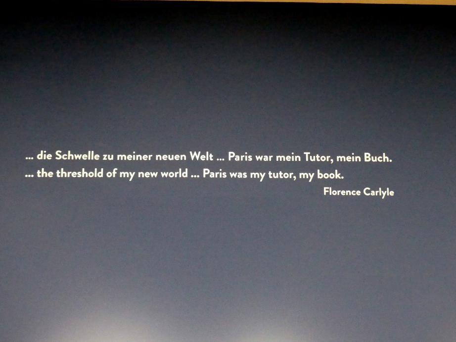 """München, Kunsthalle, Ausstellung """"Kanada und der Impressionismus"""" vom 19.7.-17.11.2019, Frankreich-Impressionen, Bild 6/6"""