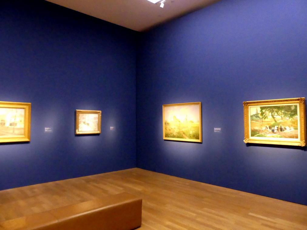 """München, Kunsthalle, Ausstellung """"Kanada und der Impressionismus"""" vom 19.7.-17.11.2019, Auf dem Land"""