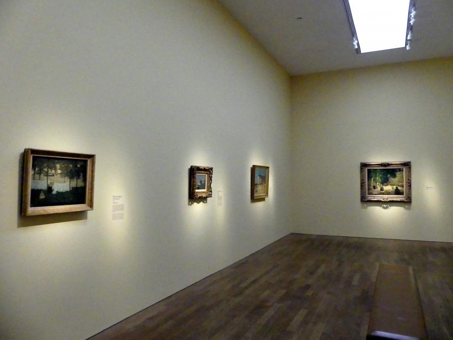 """München, Kunsthalle, Ausstellung """"Kanada und der Impressionismus"""" vom 19.7.-17.11.2019, An Frankreichs Küsten, Bild 1/4"""