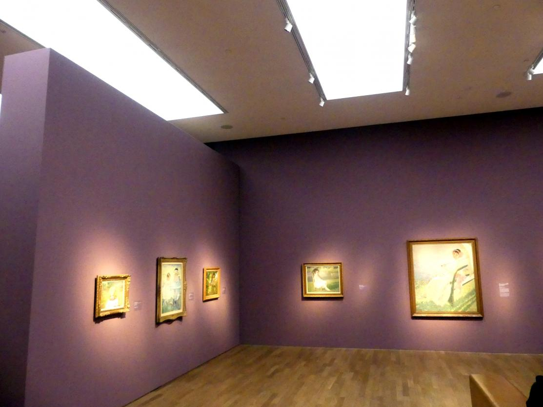 """München, Kunsthalle, Ausstellung """"Kanada und der Impressionismus"""" vom 19.7.-17.11.2019, Jugend und Sonnenlicht, Bild 1/5"""