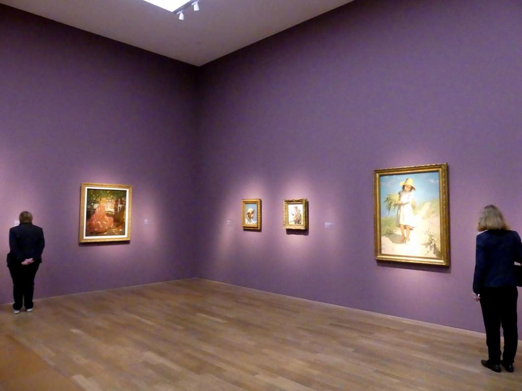 """München, Kunsthalle, Ausstellung """"Kanada und der Impressionismus"""" vom 19.7.-17.11.2019, Jugend und Sonnenlicht, Bild 5/5"""