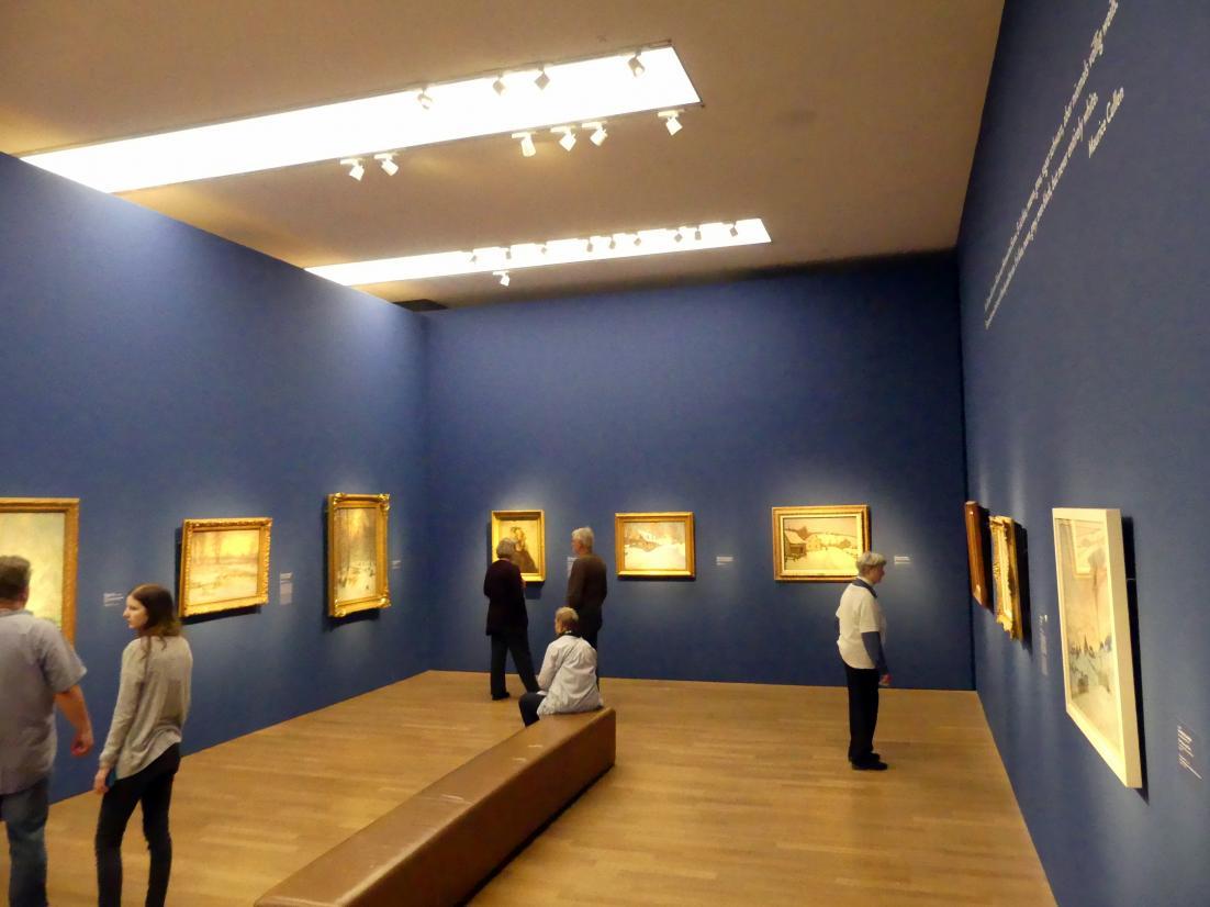 """München, Kunsthalle, Ausstellung """"Kanada und der Impressionismus"""" vom 19.7.-17.11.2019, Rückkehr nach Kanada, Bild 1/5"""