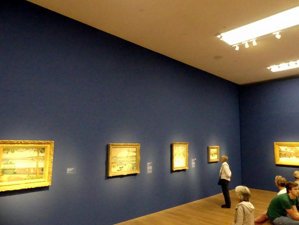 """München, Kunsthalle, Ausstellung """"Kanada und der Impressionismus"""" vom 19.7.-17.11.2019, Städtisches Leben, Bild 1/6"""