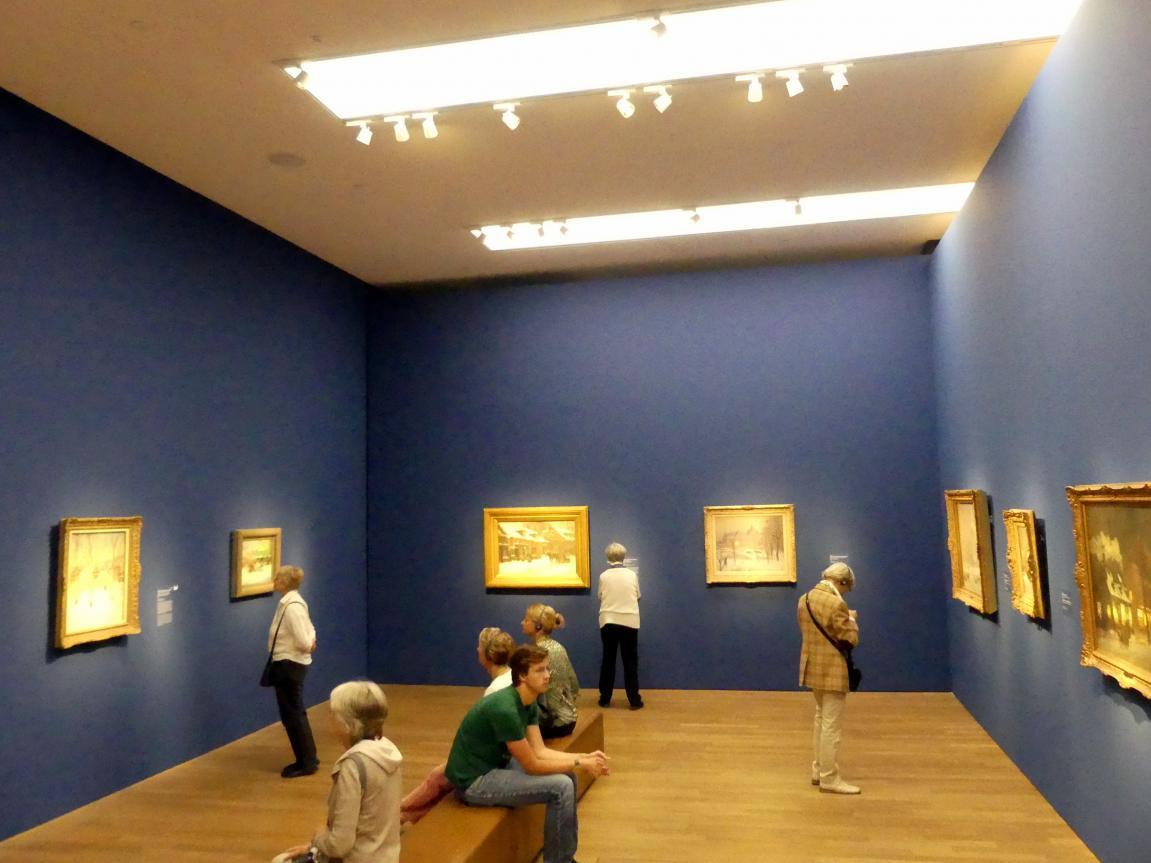 """München, Kunsthalle, Ausstellung """"Kanada und der Impressionismus"""" vom 19.7.-17.11.2019, Städtisches Leben, Bild 2/6"""