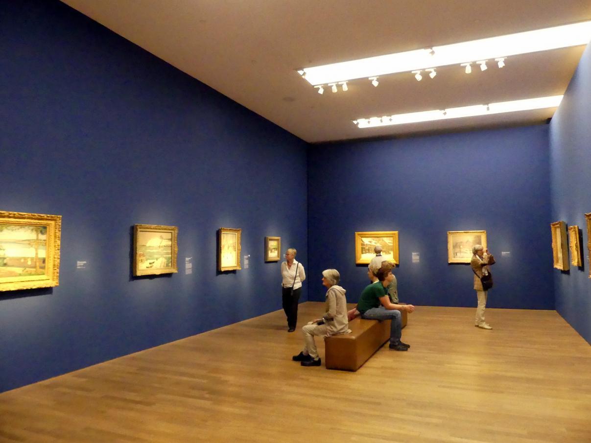 """München, Kunsthalle, Ausstellung """"Kanada und der Impressionismus"""" vom 19.7.-17.11.2019, Städtisches Leben, Bild 3/6"""
