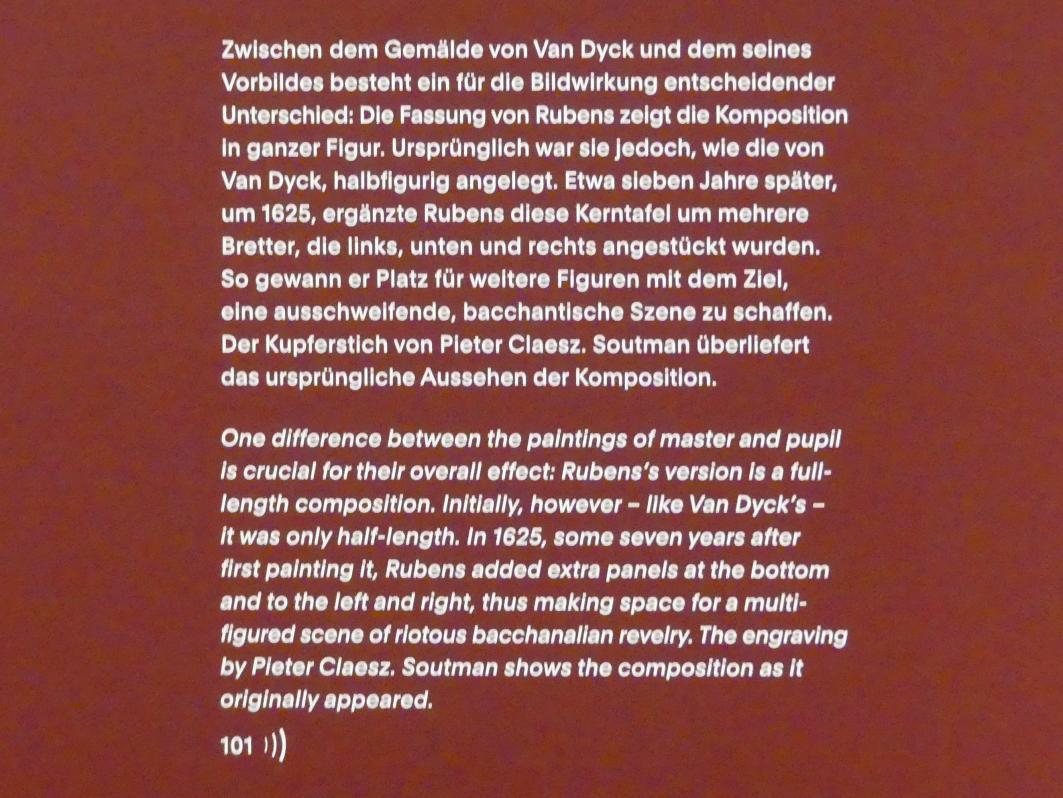 """München, Alte Pinakothek, Ausstellung """"Van Dyck"""" vom 25.10.2019-2.2.2020, Die Anfänge - 1"""