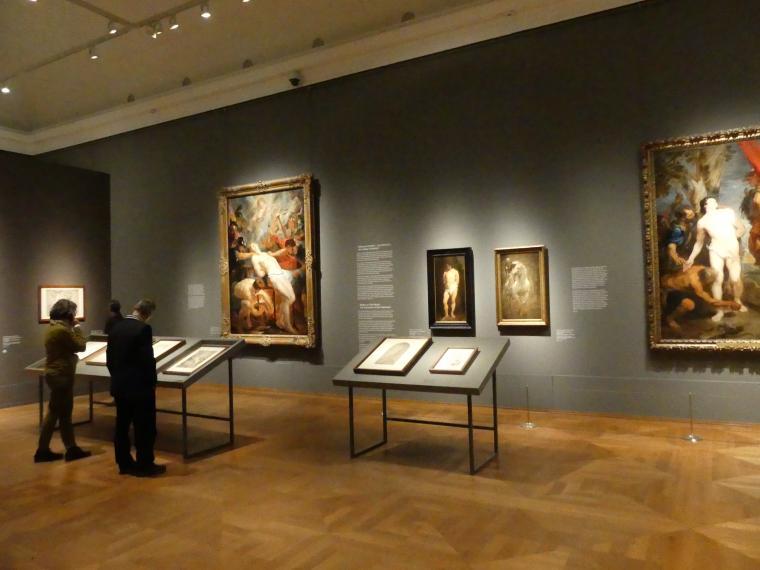 """München, Alte Pinakothek, Ausstellung """"Van Dyck"""" vom 25.10.2019-2.2.2020, Von Antwerpen nach Italien - 4, Bild 1/2"""