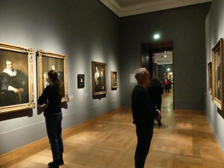 """München, Alte Pinakothek, Ausstellung """"Van Dyck"""" vom 25.10.2019-2.2.2020, Künstlerbildnisse - 1, Bild 1/2"""