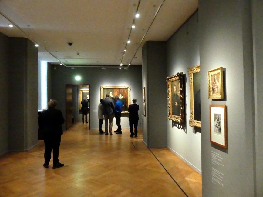 """München, Alte Pinakothek, Ausstellung """"Van Dyck"""" vom 25.10.2019-2.2.2020, Die """"Ikonographie"""" - 1, Bild 1/6"""