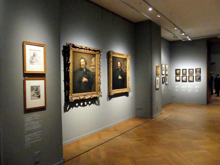 """München, Alte Pinakothek, Ausstellung """"Van Dyck"""" vom 25.10.2019-2.2.2020, Die """"Ikonographie"""" - 1, Bild 4/6"""