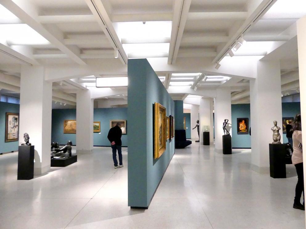 Prag, Nationalgalerie im Messepalast, 1918-1939, Saal 1, Bild 1/6