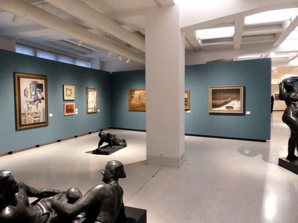 Prag, Nationalgalerie im Messepalast, 1918-1939, Saal 1, Bild 5/6