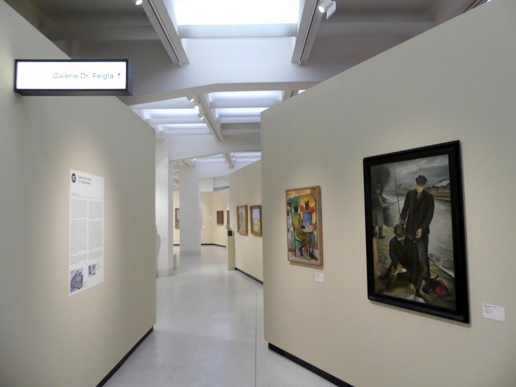 Prag, Nationalgalerie im Messepalast, 1918-1939, Saal 12, Bild 1/4