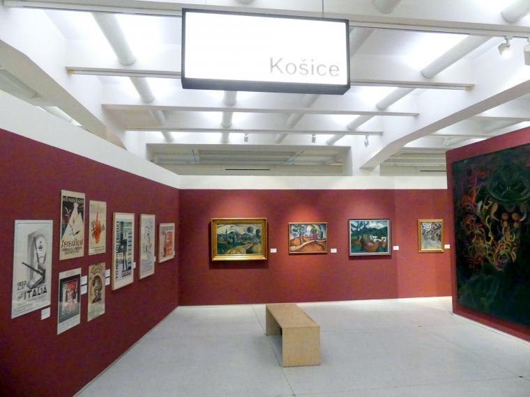 Prag, Nationalgalerie im Messepalast, 1918-1939, Saal 17, Bild 1/19