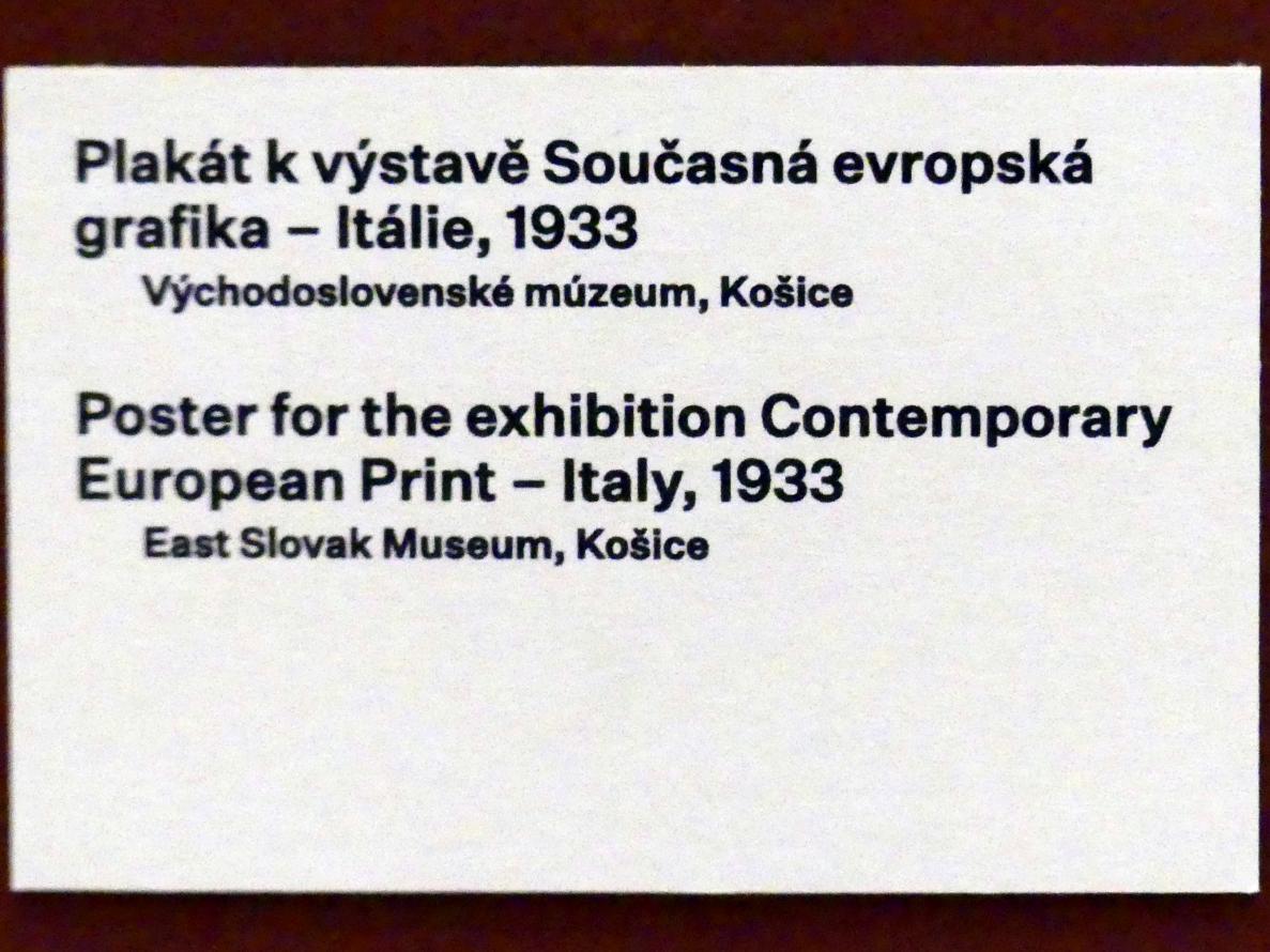 Prag, Nationalgalerie im Messepalast, 1918-1939, Saal 17, Bild 4/19