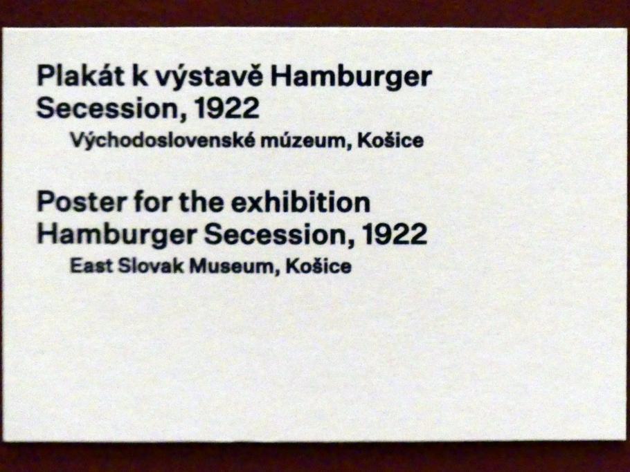 Prag, Nationalgalerie im Messepalast, 1918-1939, Saal 17, Bild 6/19