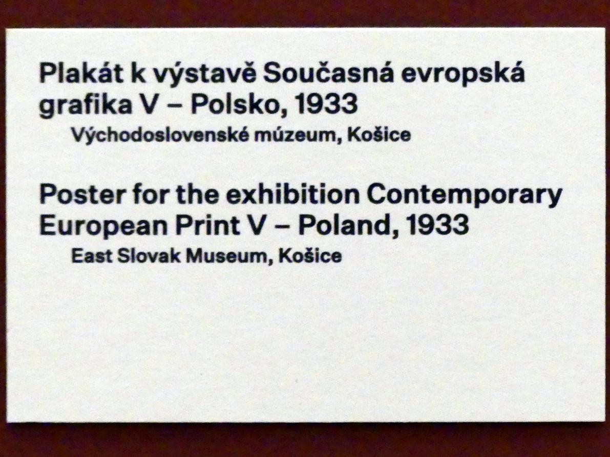 Prag, Nationalgalerie im Messepalast, 1918-1939, Saal 17, Bild 8/19