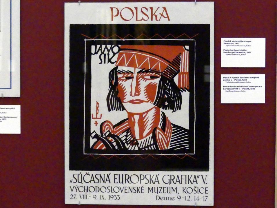 Prag, Nationalgalerie im Messepalast, 1918-1939, Saal 17, Bild 9/19