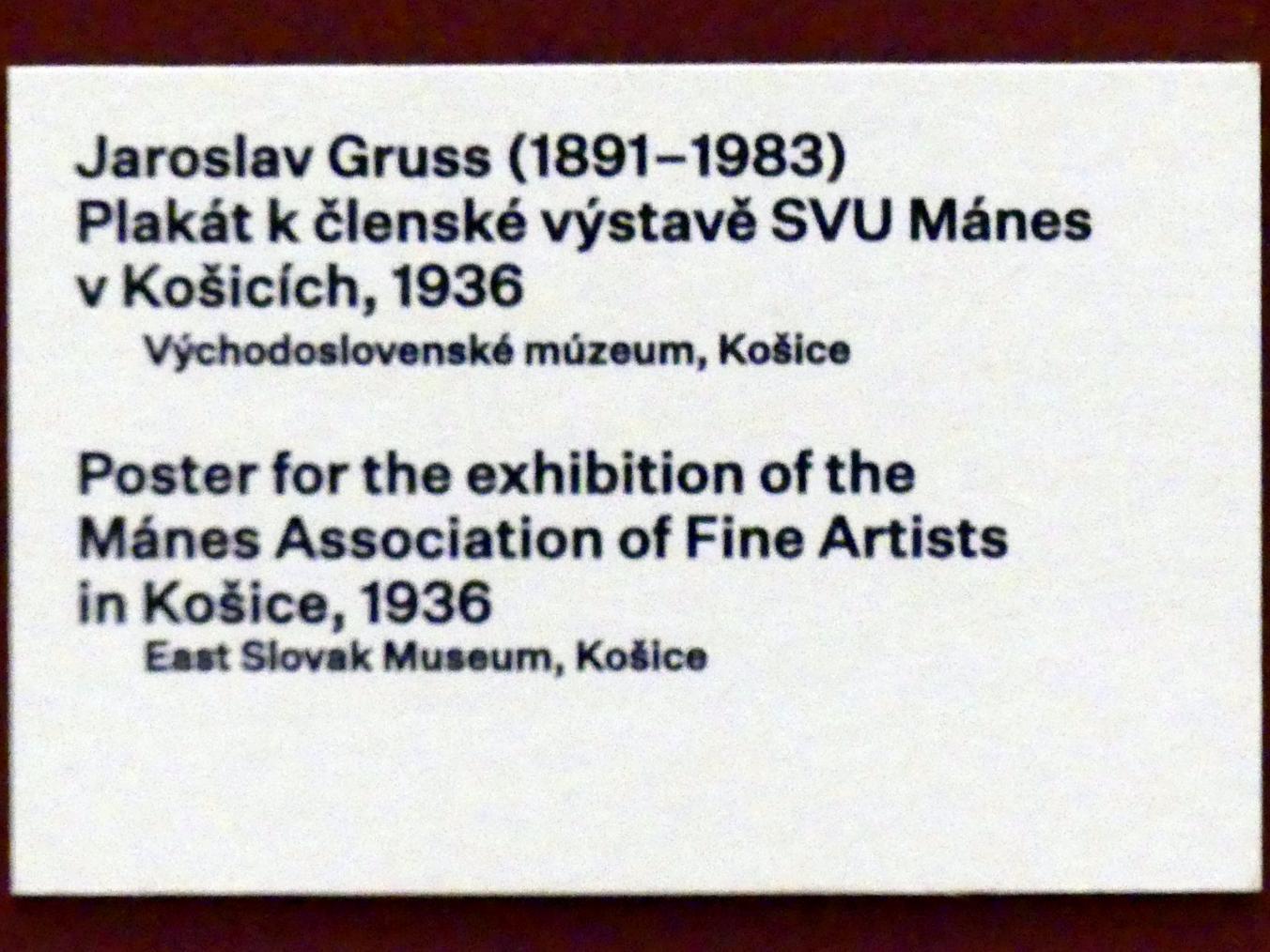 Prag, Nationalgalerie im Messepalast, 1918-1939, Saal 17, Bild 10/19