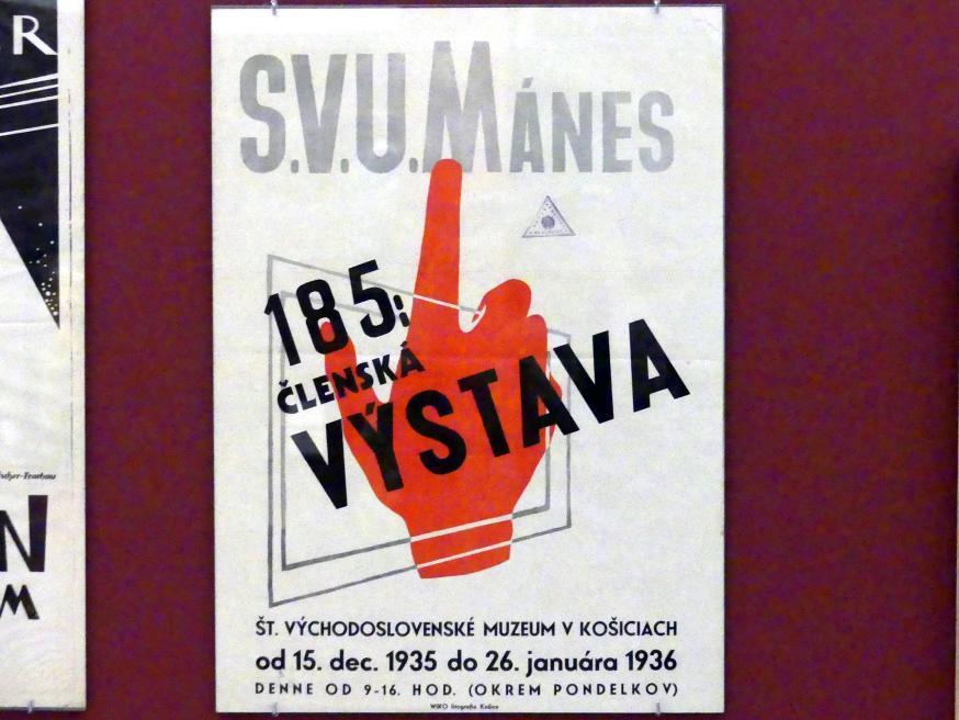 Prag, Nationalgalerie im Messepalast, 1918-1939, Saal 17, Bild 11/19