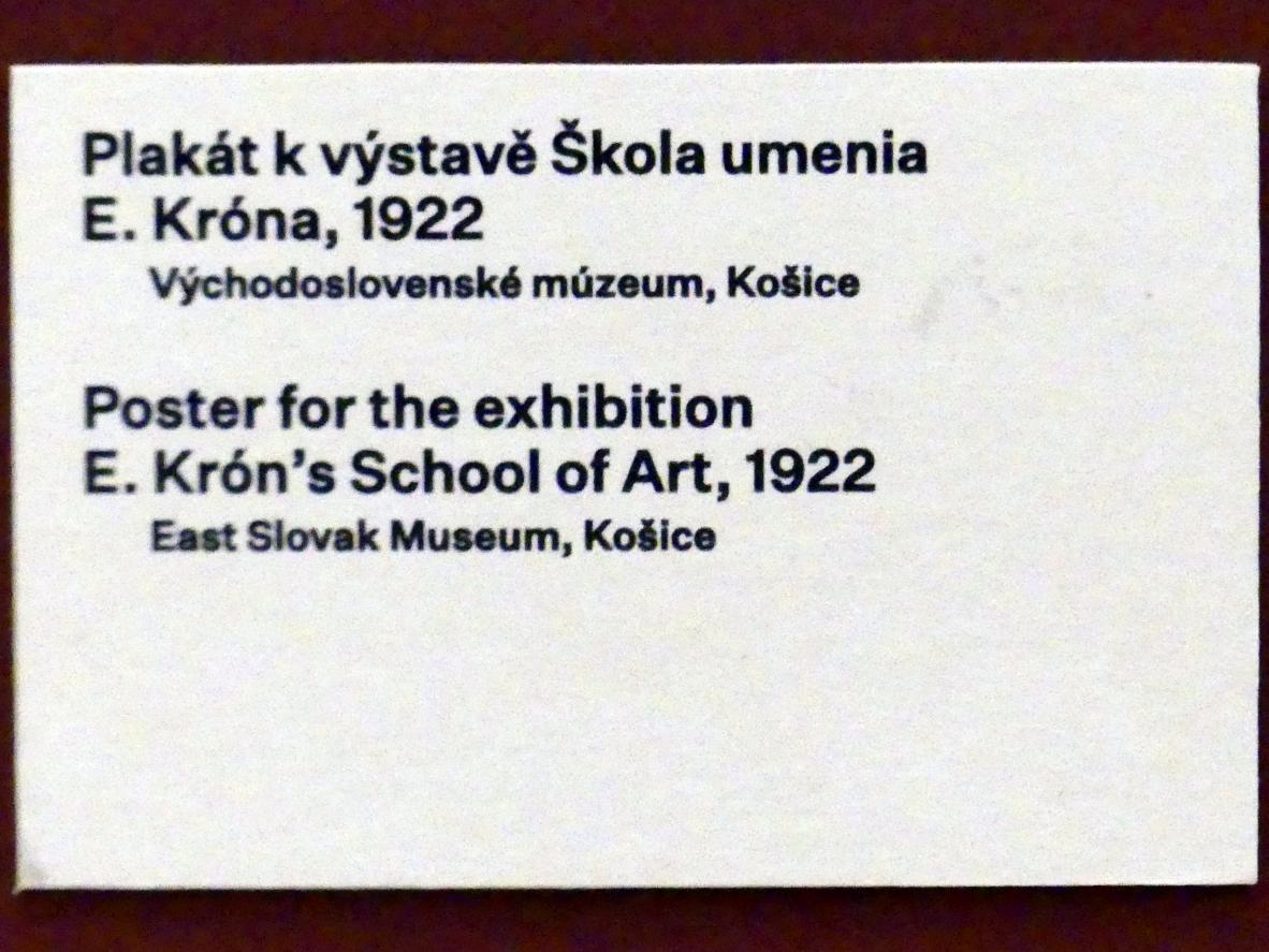Prag, Nationalgalerie im Messepalast, 1918-1939, Saal 17, Bild 12/19