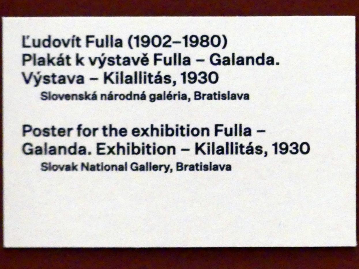 Prag, Nationalgalerie im Messepalast, 1918-1939, Saal 17, Bild 16/19