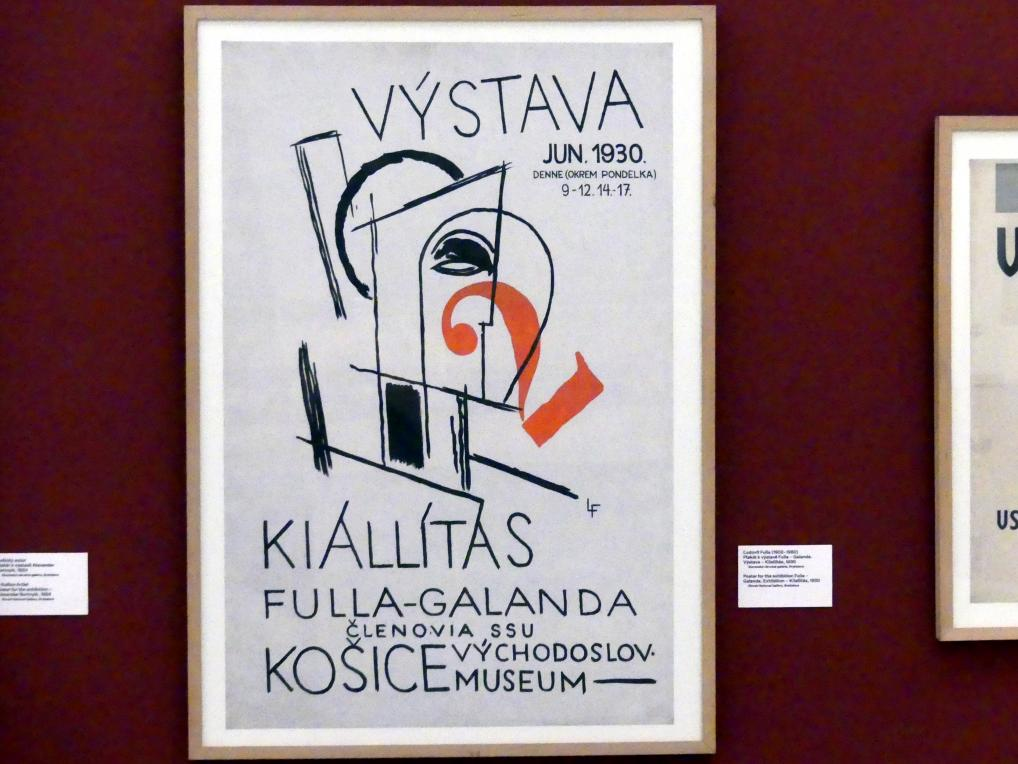 Prag, Nationalgalerie im Messepalast, 1918-1939, Saal 17, Bild 17/19