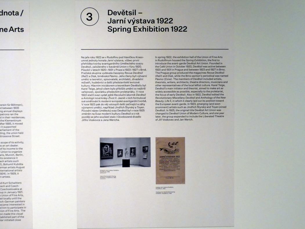 Prag, Nationalgalerie im Messepalast, 1918-1939, Saal 3, Bild 4/7