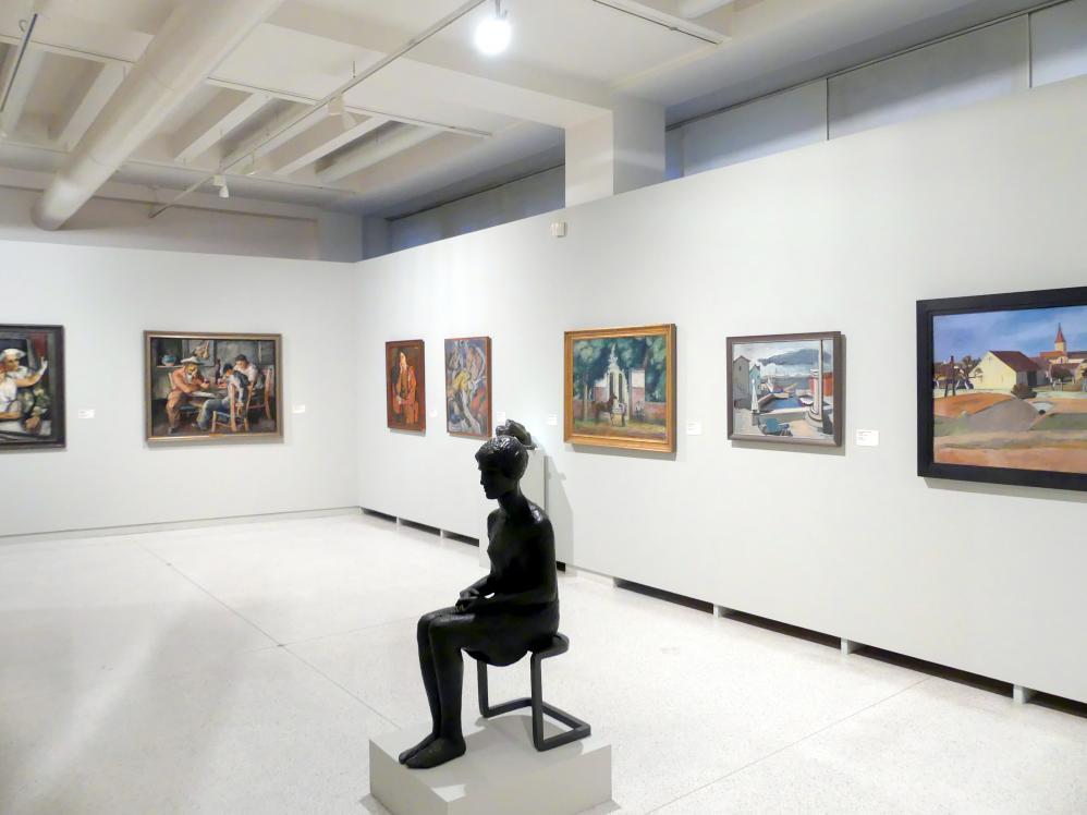 Prag, Nationalgalerie im Messepalast, 1918-1939, Saal 3, Bild 7/7