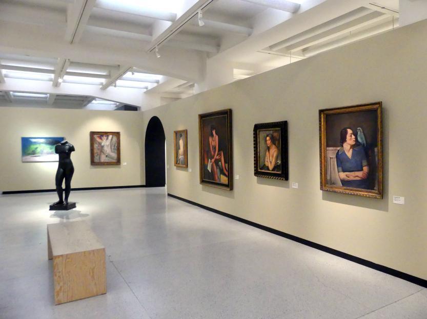 Prag, Nationalgalerie im Messepalast, 1918-1939, Saal 4, Bild 1/3